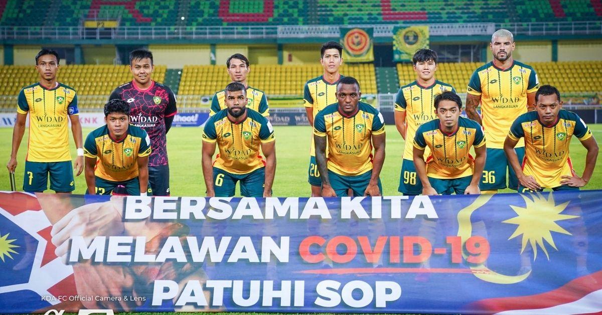 Kedah Melaka United 2021 skuad tak cukup besar Aidil Sharin