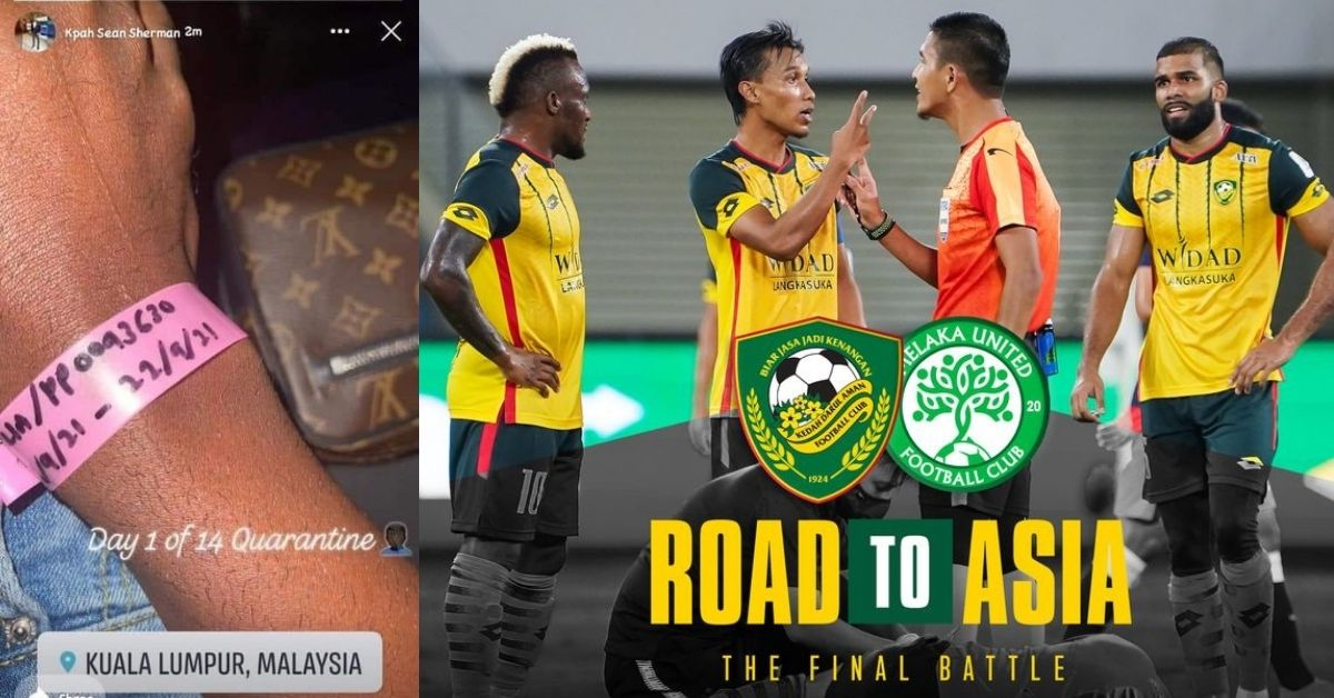 Kpah Sherman Kedah Darul Aman Liga Super 2021