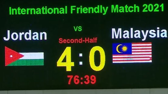 Malaysia Jordan 4-0