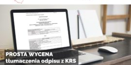 Tłumaczenia KRS