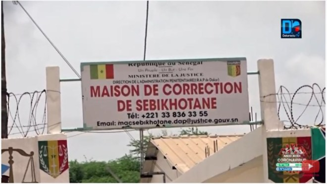 Placé sous mandat pour diffusions de fausses nouvelles : Guy Marius Sagna conduit à la MAC de Sébikotane