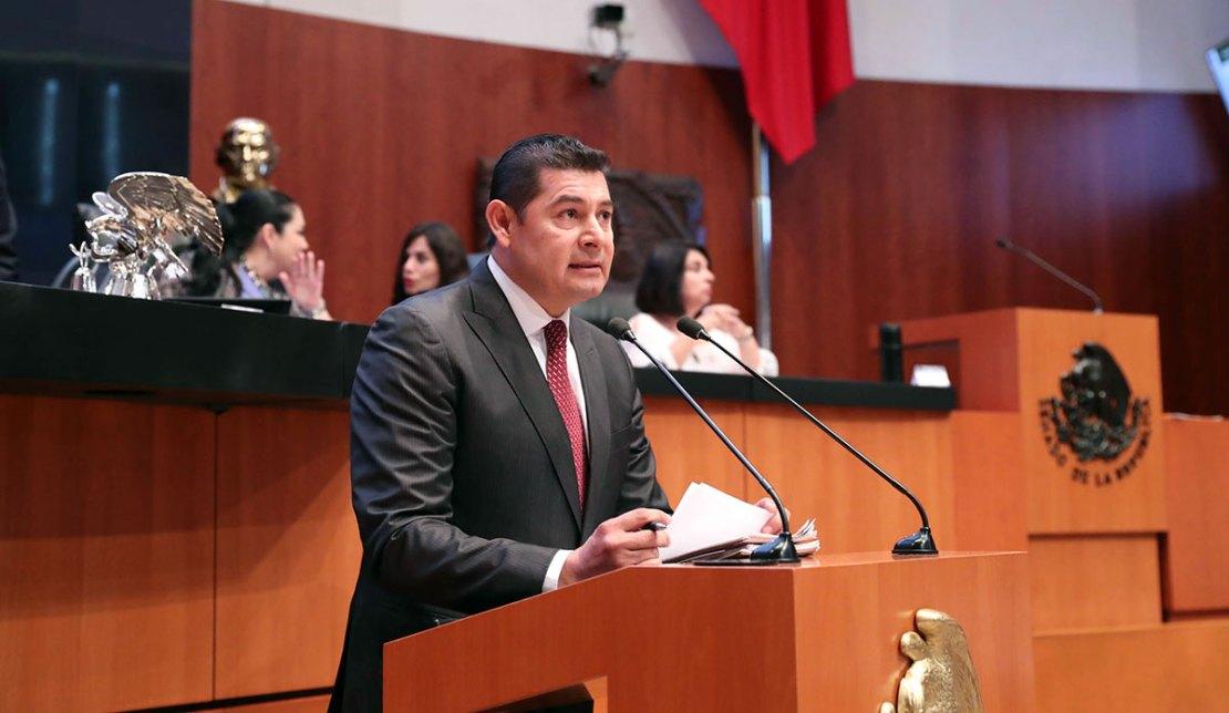 Intervencion del Senador Alejandro Armenta Mier