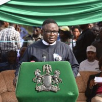 Ayade Flags off Construction of 133km Mfom–Obudu Ranch Dual Carriage Road