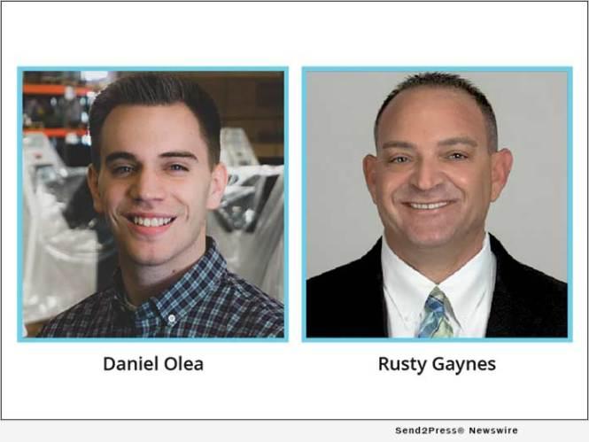Daniel Olea and Rusty Gaynes