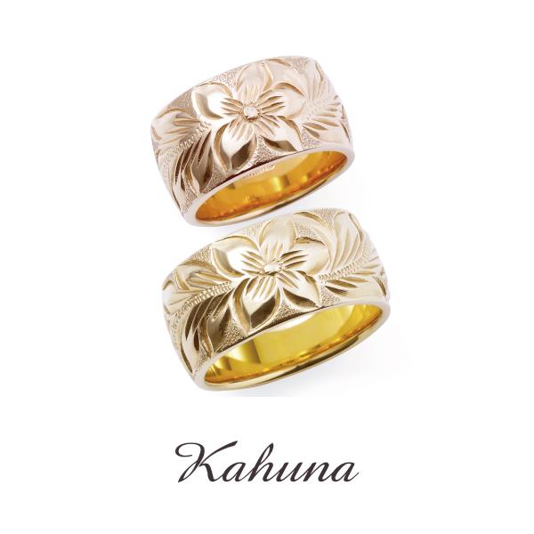 ハワイアンジュエリー,結婚指輪,手彫り,オーダーメイド