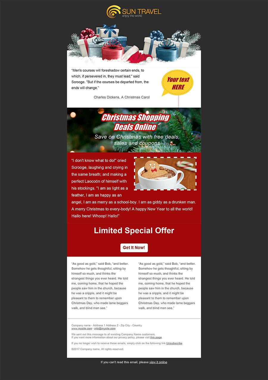 Create Your Christmas Newsletters 2018 SendBlaster Bulk