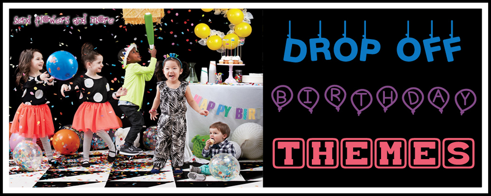 kids drop off birthday party