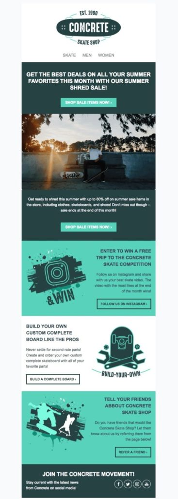 Most support dei, but don't. 40 Free Email Newsletter Templates To Wow Subscribers Sendinblue