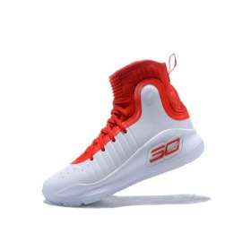 curry 4 red white