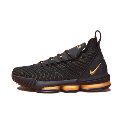brand new 4ce9e d2a81 Nike LeBron 16 Black/Gold - Senebasket-Shop