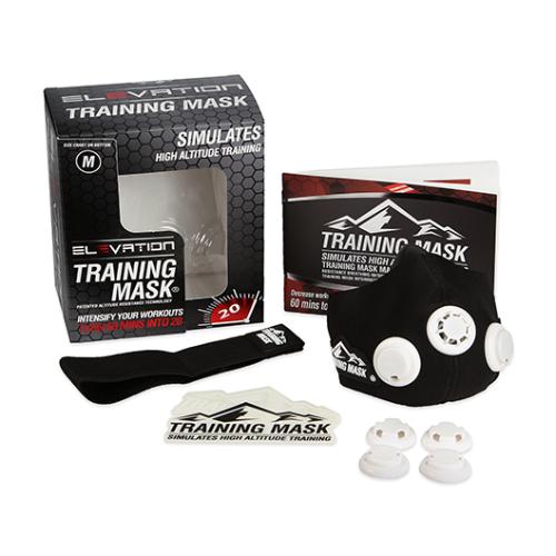 Masque d'entraînement Elevation 2.0 - Noir Training Mask