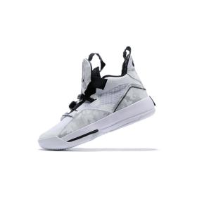 Air Jordan 33 XXXIII Future of Flight White Black Gray