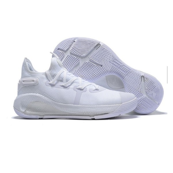 Curry 6 all white
