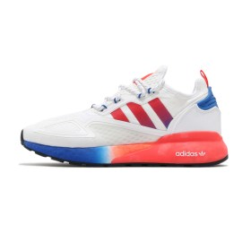 Adidas ZX 2K Boost White Orange Blue