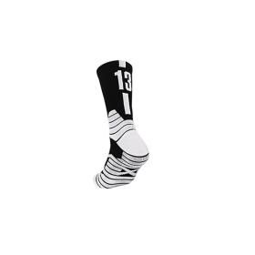 Chaussettes de basketball Noir Blanc 13