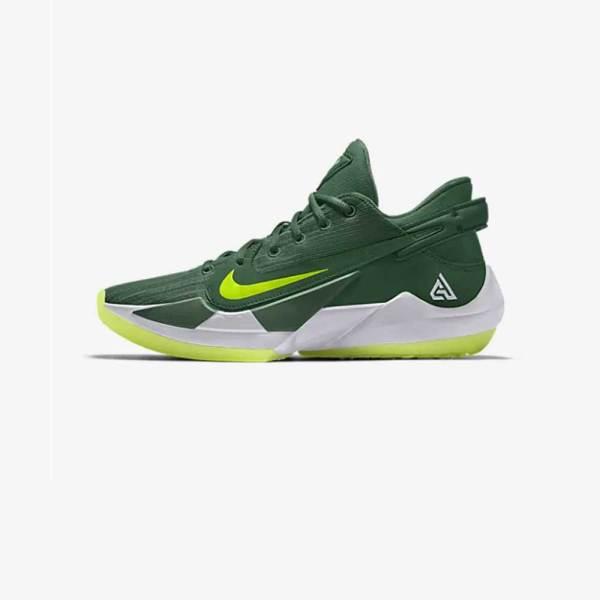 Nike Freak 2 By You green