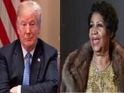 Décès de Aretha Franklin: L'hommage de Donald Trump qui choque la toile