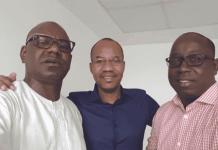 Mamoudou Ibra Kane et Alassane Samba Diop dévoilent les locaux de leur nouvelle radio