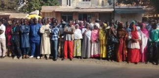( 05 Photos ) Direct de Walfadjri, le corps de Sidy Lamine à la devanture, pour l'ultime hommage