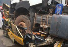 Kaolack : Les images terrifiantes de l'accident qui a fait plusieurs morts en centre-ville (photos)