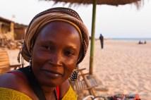 Local beach bustling with life in sleepy village of Toubab Dialaw on Petite Côte, Senegal. Photo by Marko Preslenkov.