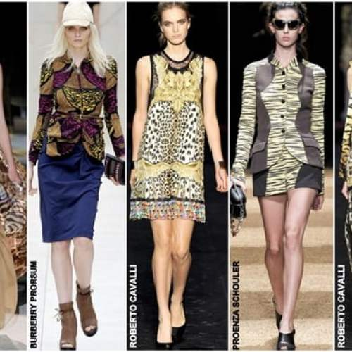 2014 Summer Trends Animal Prints