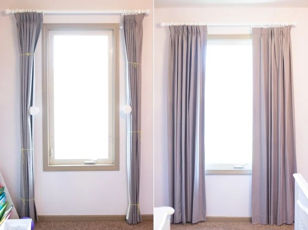 3 awesome tips on how to hang curtain