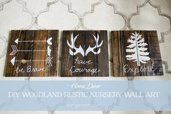 17 Gentle Ideas For Diy Nursery Decor Quotes Inexpensive Home