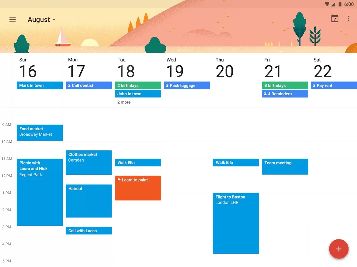 Alat Gratis Google untuk Content Marketing - google calendar