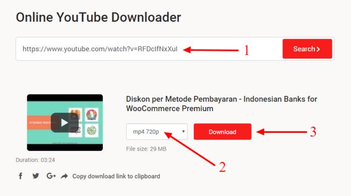 Cara Download Video Youtube Gratis di YouTubNow
