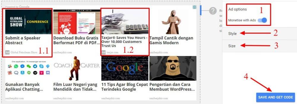 Matched Content Google Adsense - 4jpg