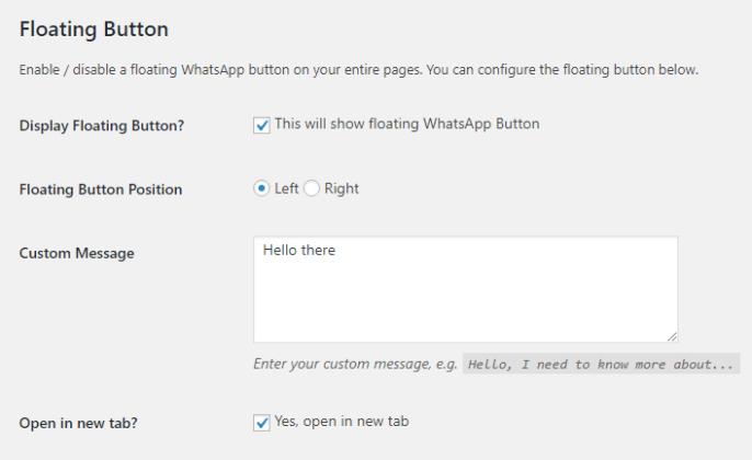 OneClick WhatsApp Order wordpress woocommerce - 2