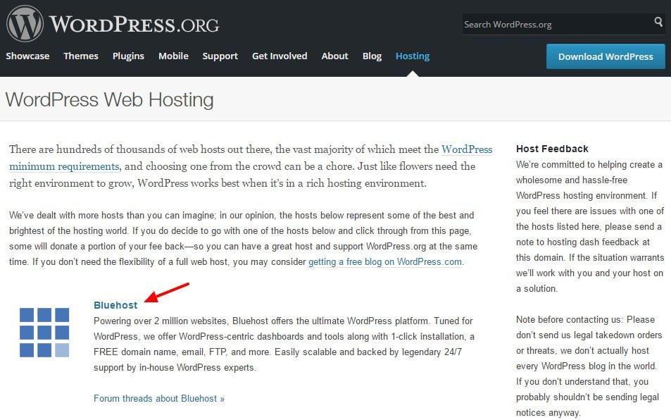 Review Hosting Bluehost - bluehost sebagai hosting khusus wordpress