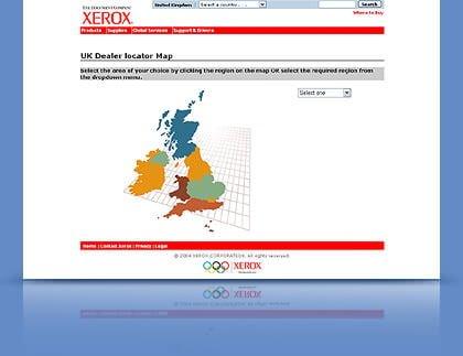 Website Tertua - xerox.com
