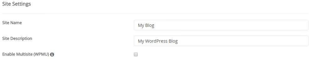 cara membuat blog wordpress self-hosted - site settings
