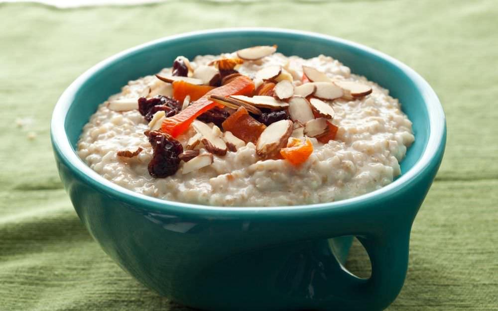 pilihan menu makanan untuk diet - oatmeal