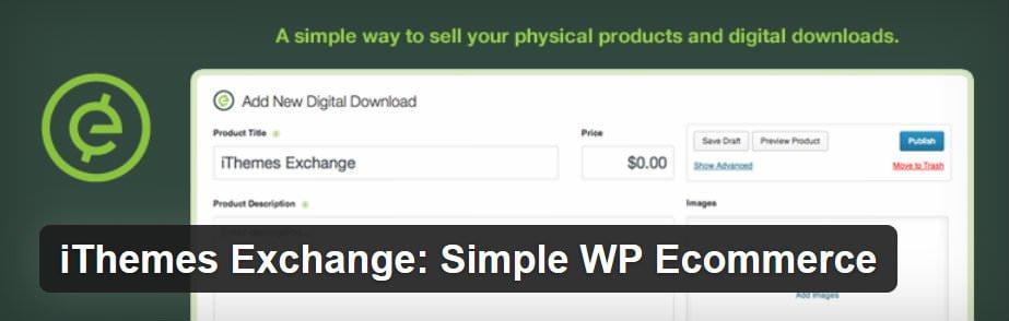 plugin wordpress untuk toko online - ithemes exchange