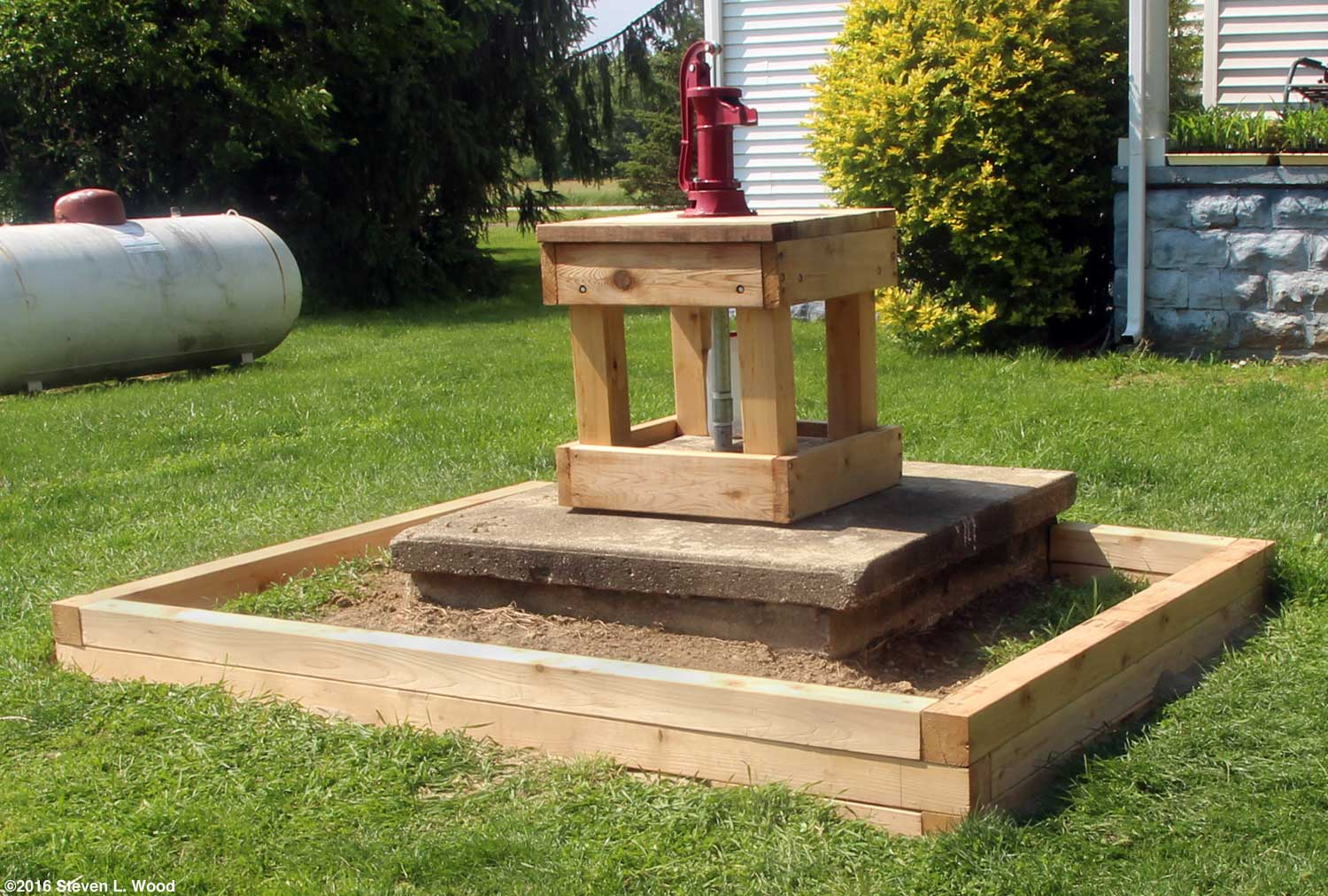 How Build Raised Garden Landscape Timbers