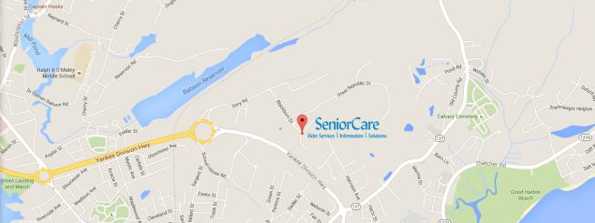 SeniorCare map