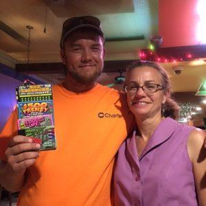 Congratulations to Dan Gray, the winner of the scratch ticket raffle