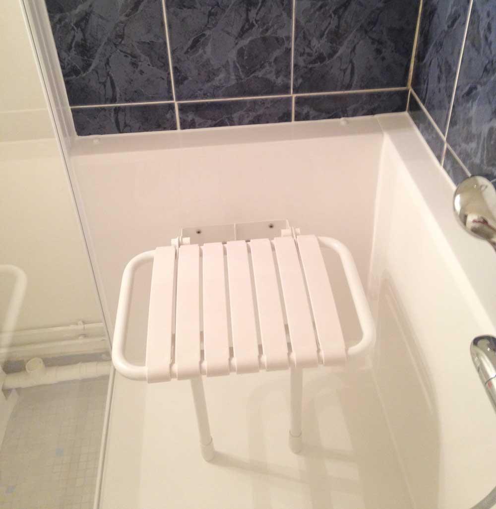 pour baignoire et douche senior