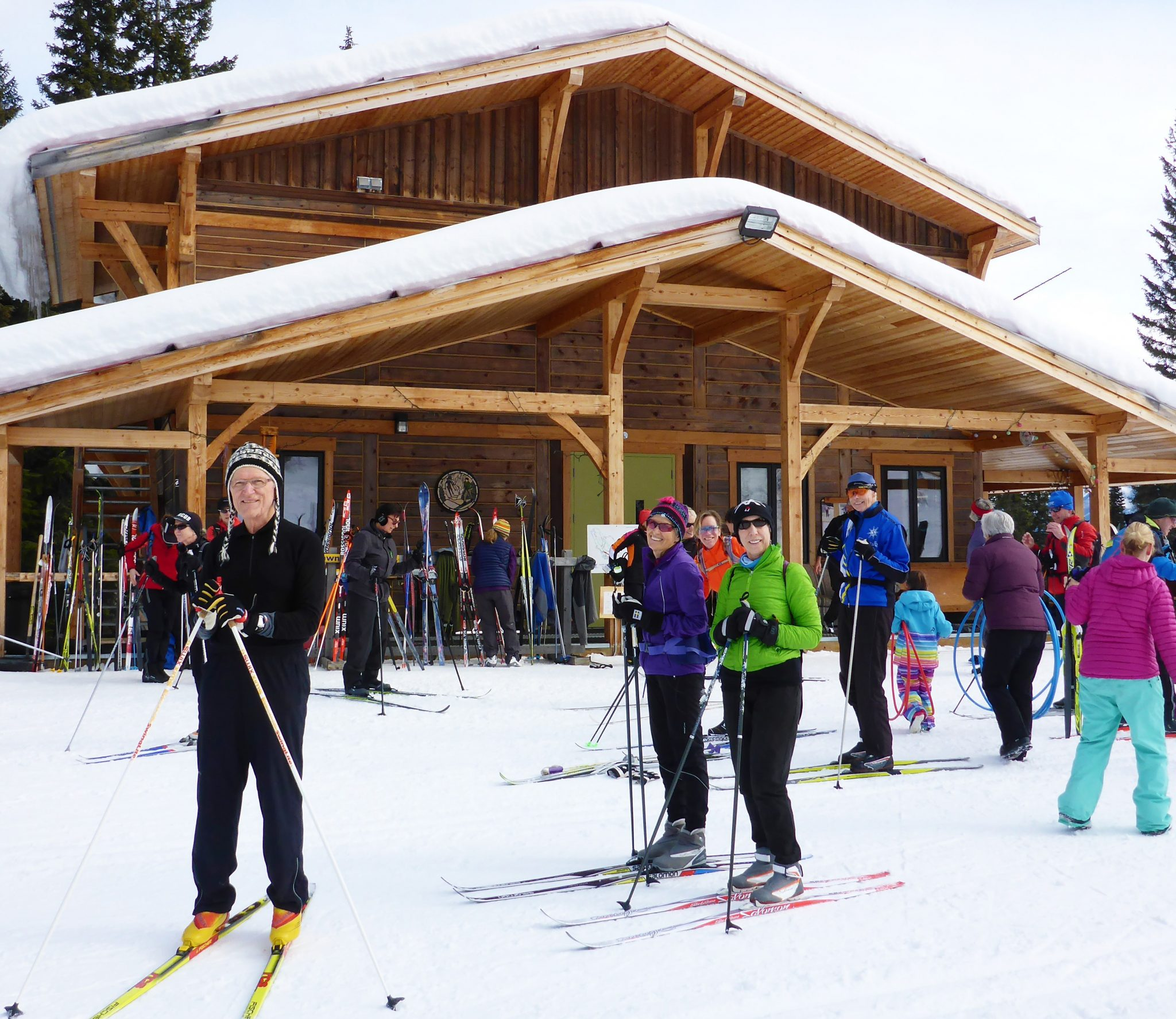Nordic (XC) Skiing in Five Easy Strides | INSPIRED Senior Living ...
