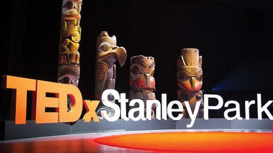 TedX Stanley Park Stage