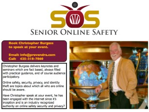 Senior Online Safety - Have Christopher Burgess speak at your Event
