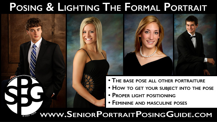 Posing and Lighting Formal Senior Pictures