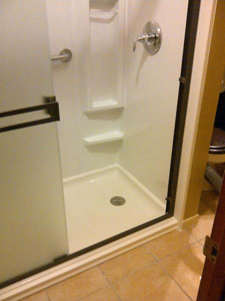 Walk In Shower 32x60x72 Acrylic Shower Pan Amp 3 Wall