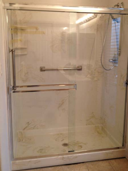 Walk In Shower 36x60x72 Marble Shower Pan Amp 3 Wall