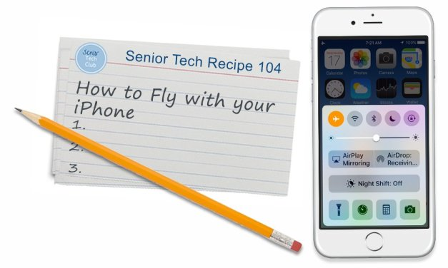 How to Fly with your iPhone