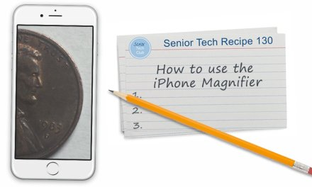 How to use the iPhone Magnifier