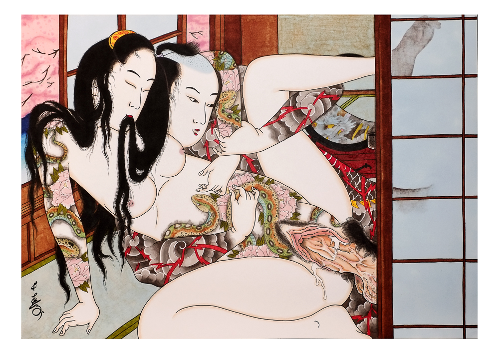 senju, horimatsu, shunga, erotic, erotica, japanese, japan, umeå, sweden, porn, pornography-1-2